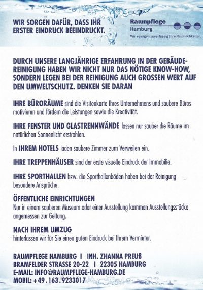 Raumpflege-Hamburg